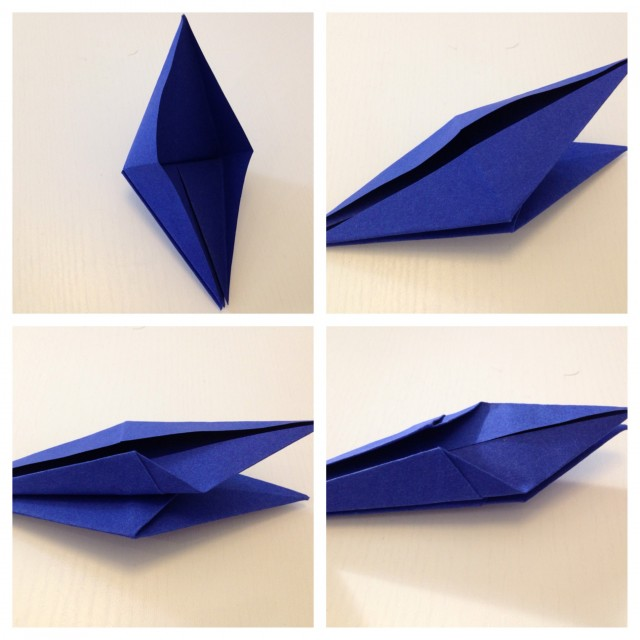 how to make a paper crane that flaps