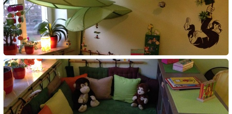 Super Cozy Jungle Themed Kids Room Part 37