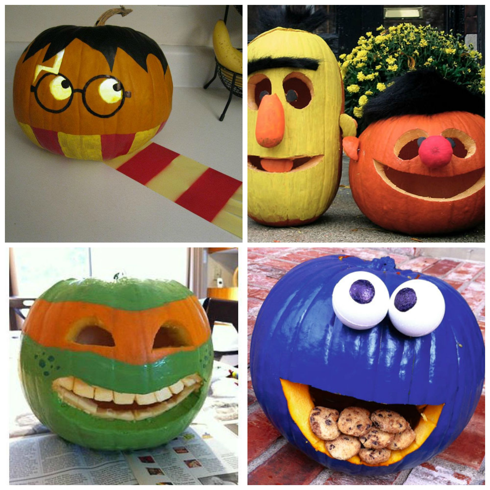 paint and carve