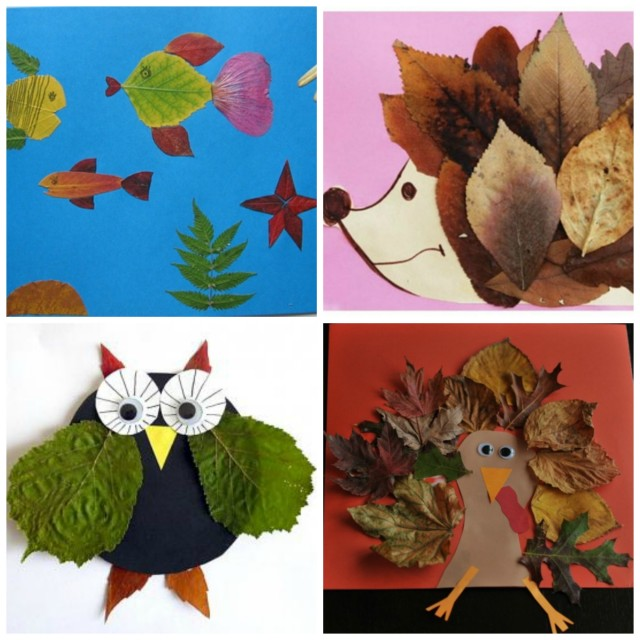 Creative Leaf Animals For Fall Fun With Kids
