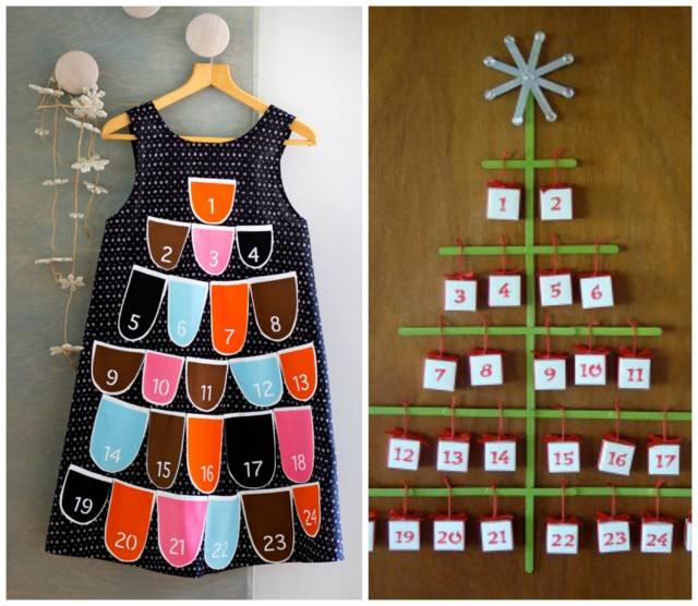 creative do it yourself advent calendars fun with kids. Black Bedroom Furniture Sets. Home Design Ideas