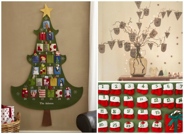 Do It Yourself Home Design: Creative Do-It-Yourself Advent Calendars