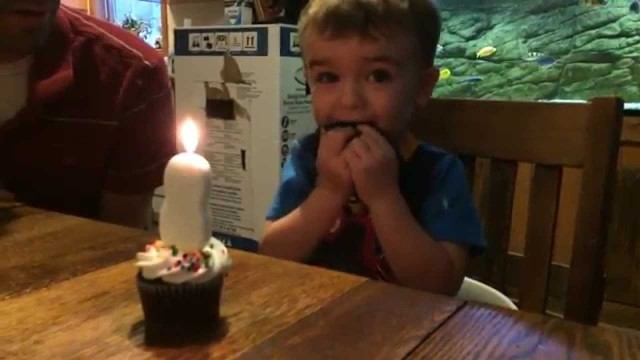 can't blow out candle