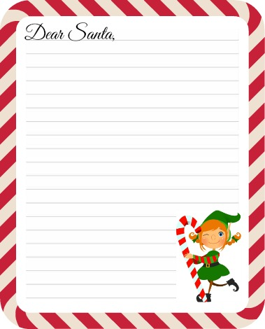 Here are a few printable Christmas lists to get your kids started so ...