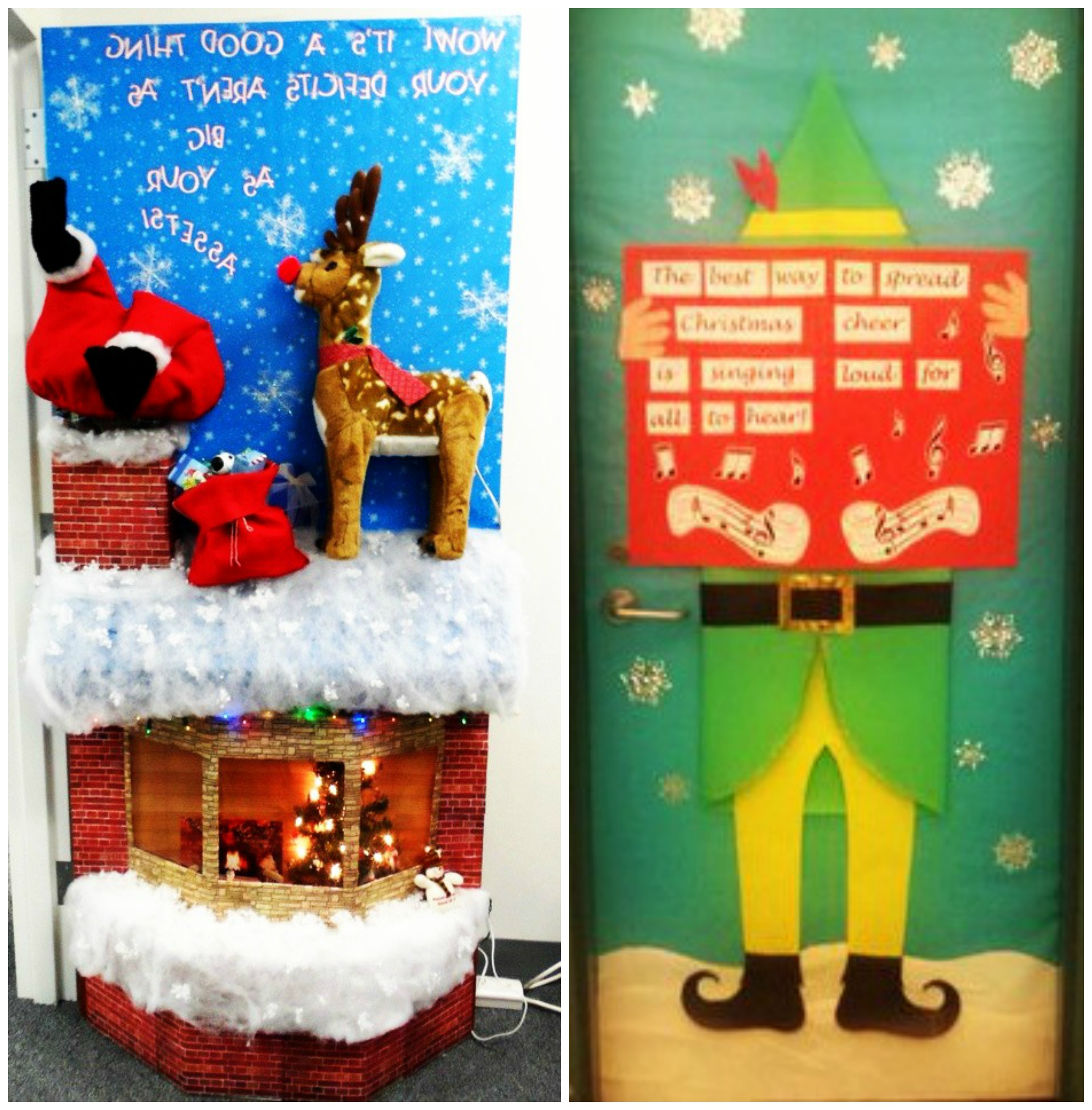 Best Door Decoration Inspiration For Kids At Christmas Fun With Kids