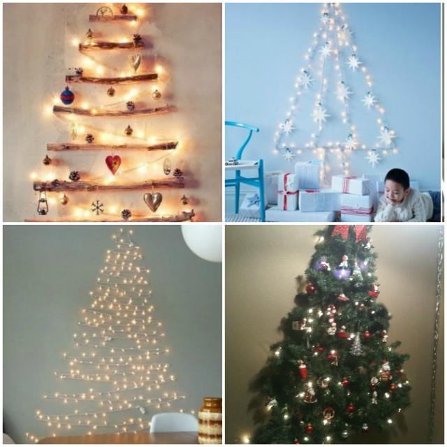 Kid friendly christmas tree alternatives fun with kids lights on wall tree aloadofball Gallery