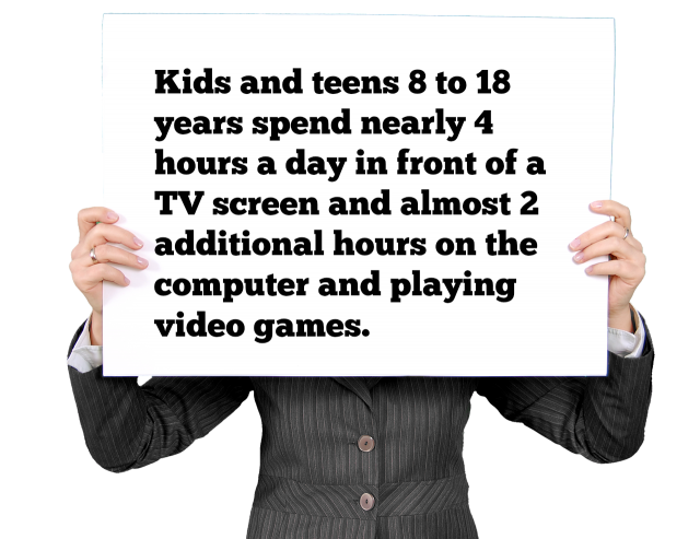 Kids and teens tv screen