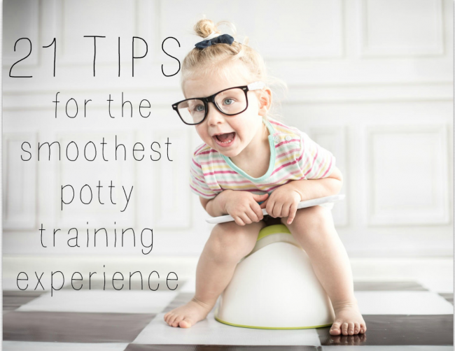 21 tips to potty train