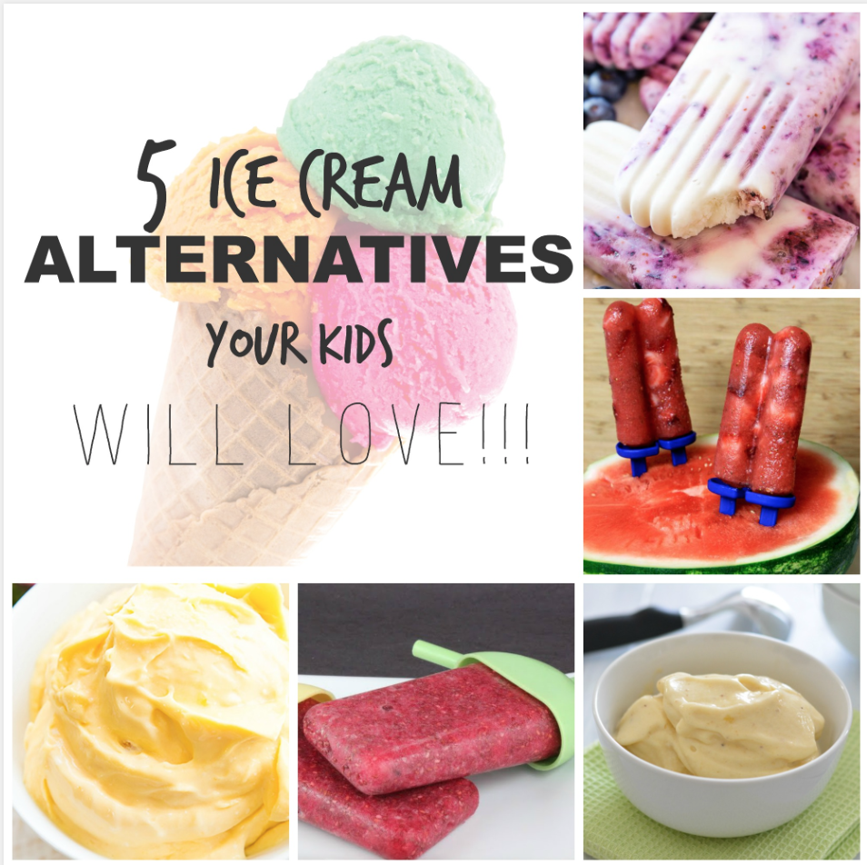 Alternatives To Ice Cream for Kids
