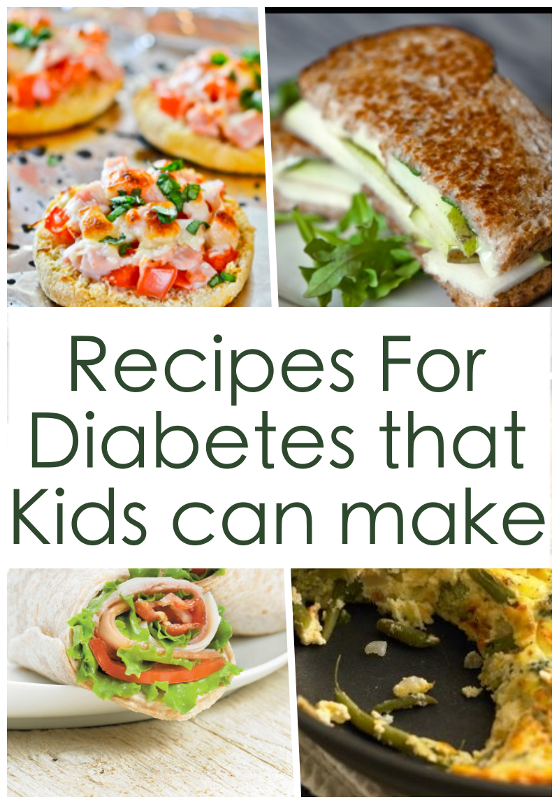 Recipes For Diabetes That Kids Can Make On Their Own