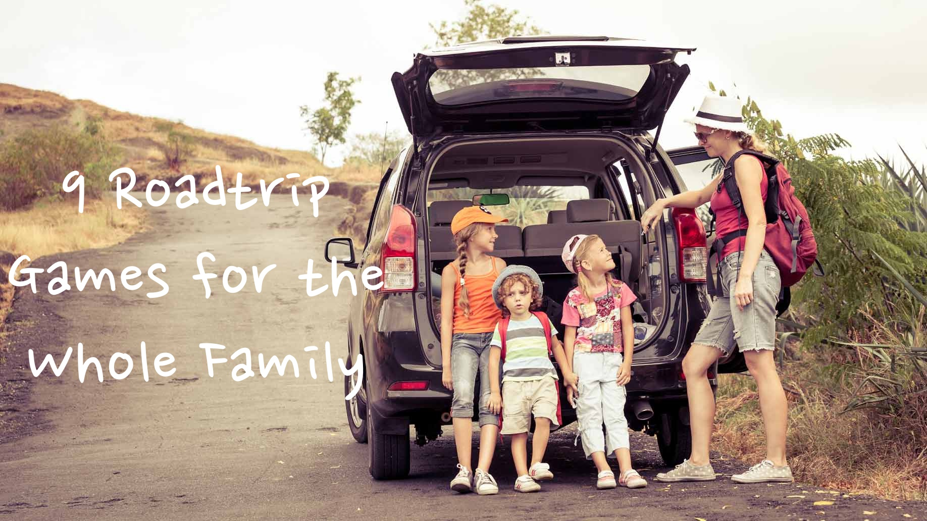 9 Road Trip Games The Whole Family Can Play Fun With Kids