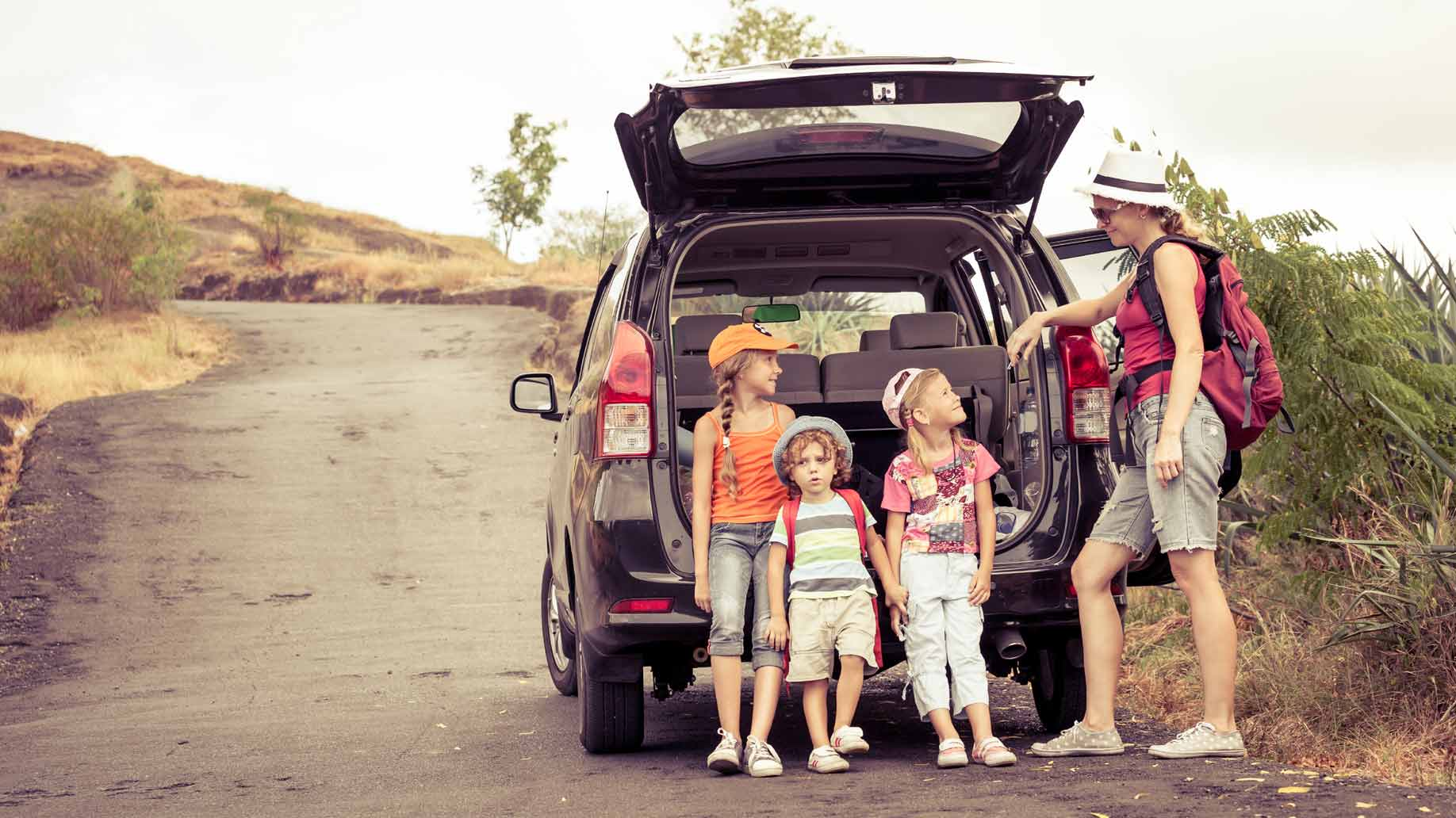 Funny Word Games for Kids on the Road